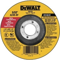 "Type 27 High Performance Metal Cutting and Notching Wheel 6"" x 3/32"" x 7/8"""