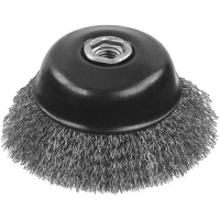 "Carbon Crimp Wire Cup Brush 3"" x 5/8"""