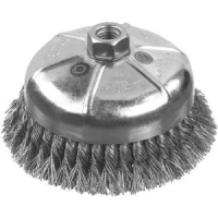 "Carbon Knot Wire Cup Brush 4"" x 5/8"""