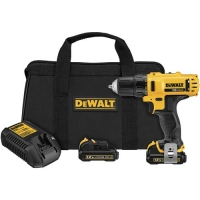 "12V Lithium-Ion 3/8"" Drill Driver Kit"