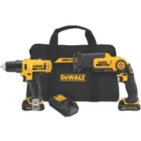 12-Volt Max Drill Driver and Reciprocating Saw Kit
