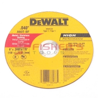 "Type 1 High Performance Metal and Stainless Cutting Wheel 6"" x .040"" x 7/8"""