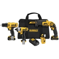 12V Max Lithium-Ion 4-Tool Combo Kit