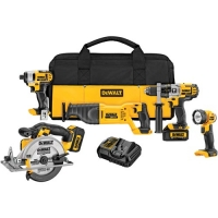 20V Max Lithium-Ion 5 Tool Combo Kit (3.0Ah)