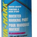 Industrial Quik-Mark Inverted Marking Paint Fluorescent Caution Blue