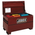 "Jobox 60"" Long Heavy-Duty Steel Chest with Site-Vault Security System"