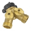 Water Hose 2-Way Y Valve