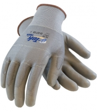 G-Tek 13 GA Seamless Knit Gloves with Polyurethane Coat and Static Wired Fingers X-Large