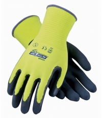 Latex Coated Gloves with Seamless Liner and Micro-Surface Grip Large
