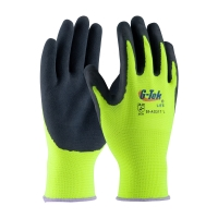 Latex Coated Gloves with Seamless Liner and Micro-Surface Grip (X-Large)