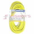 3-Conductor 300V SJTW Extension Cord with Lighted Ends - 12 Guage 100'