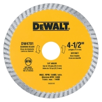 Turbo Diamond Saw Blade 4-1/2""