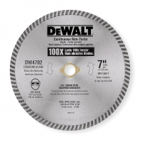 Turbo Diamond Saw Blade 7""