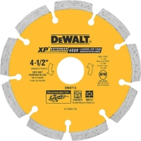 "Segmented Diamond Saw Blade 4-1/2"" (5.9 x 4.6"")"