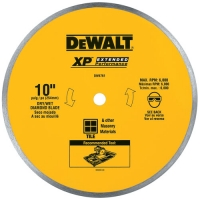 Continuous Rim Turbo Saw Blade 10""