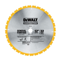 32-Tooth Miter Saw Blade 12""