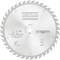 40-Tooth Woodworking Blade 10""
