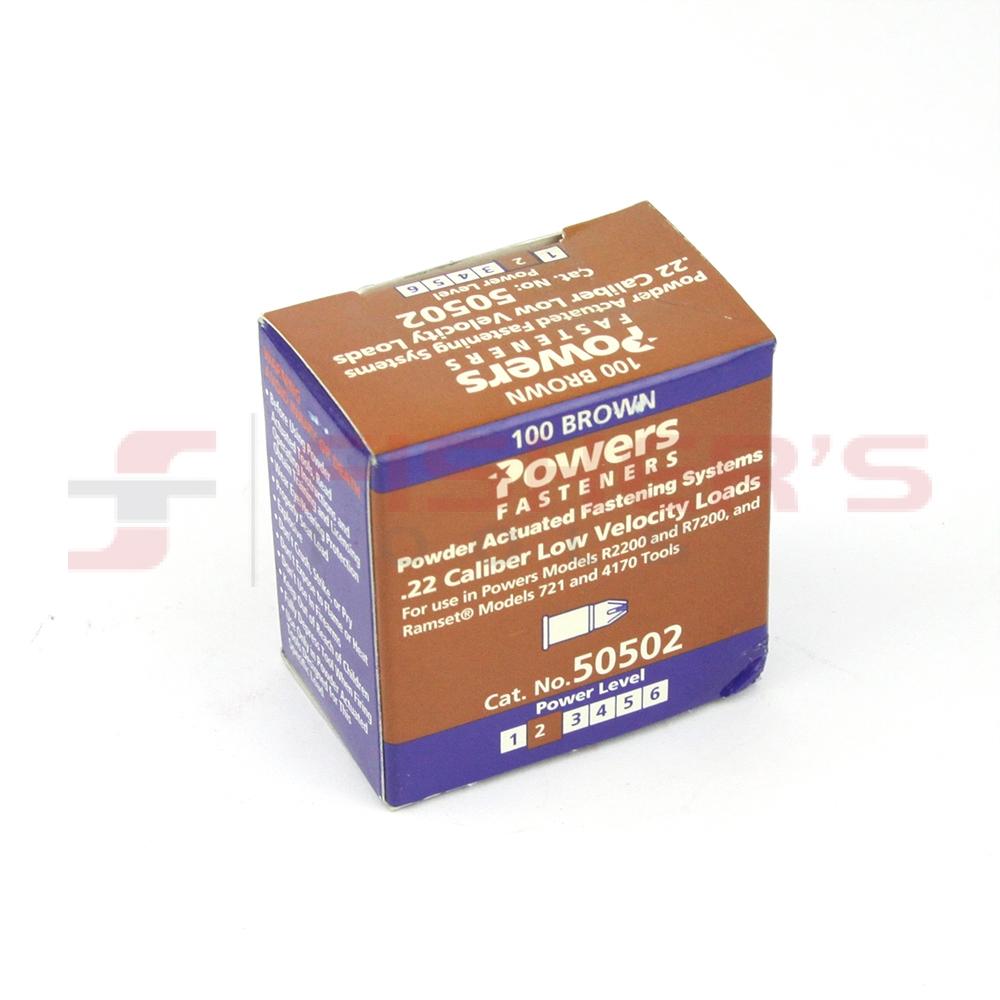 Powers Fasteners 50502  22 Caliber