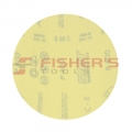 Silicon Carbide Hook and Loop Paper Discs - No Holes - 400 Grit